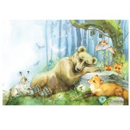Открытка «Медведь»