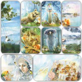 Набор открыток «Из жизни одного дерева»