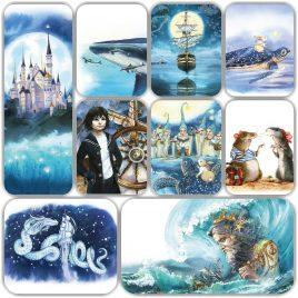 Набор открыток «Между небом и землей»